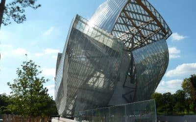 Special parts for the glass building envelope – Louis Vuitton Fondation