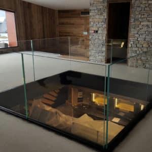 PHOTOS-GALERIE_SABCO_Rambarde-verre-mezzanine_glass-balustrade-Annecy