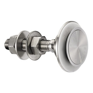 Swivel fitting - rotule - for structural bolted glass - countersunk head - seismic option available