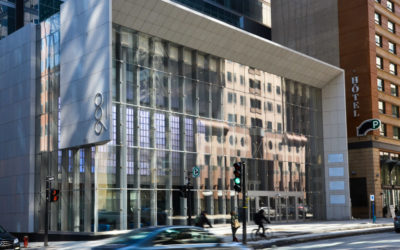 Our glass clamp facade solution
