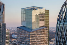 sadev vea tour saint gobain paris france saint gobain tower spider facade10