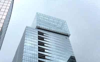 Glass fasteners for stuctural bolt facades – Saint-Gobain tower