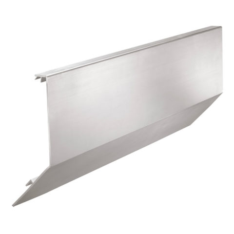 Cladding for Sabco glass balustrade offset side mounting