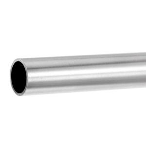 Handrail for glass balustrades ø 33,7 mm round tube - stainless steel AISI 304, 316