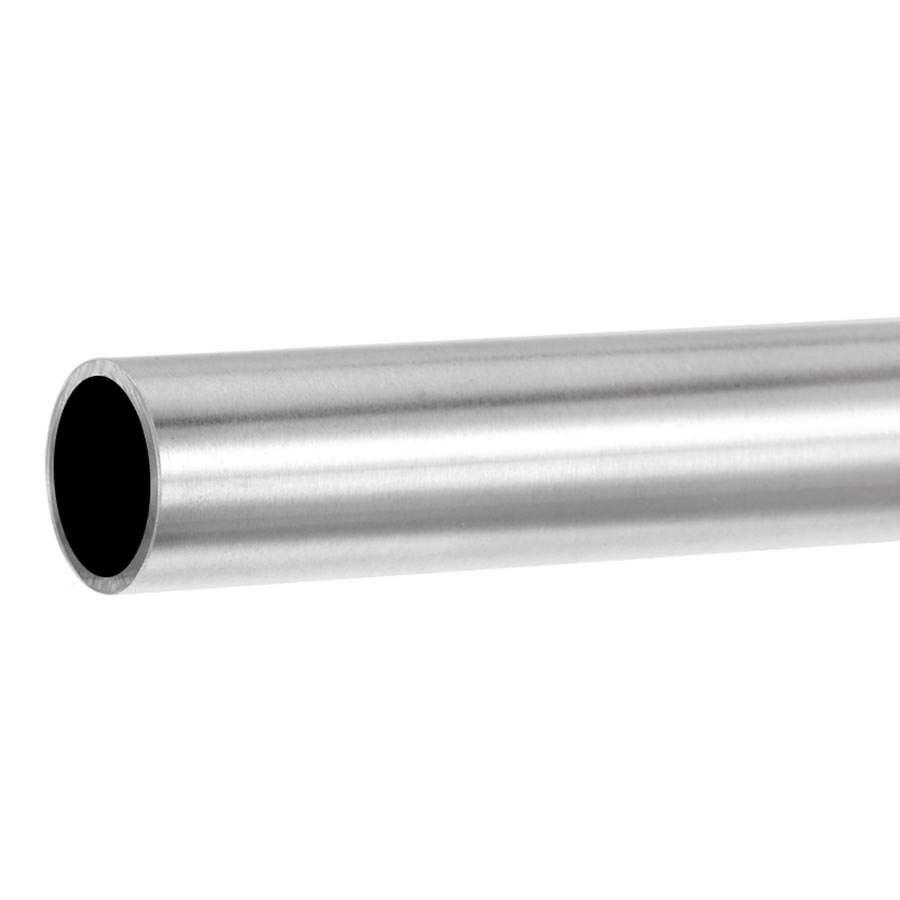 Handrail for glass balustrades ø 42,4 mm round tube - stainless steel AISI 304, 316