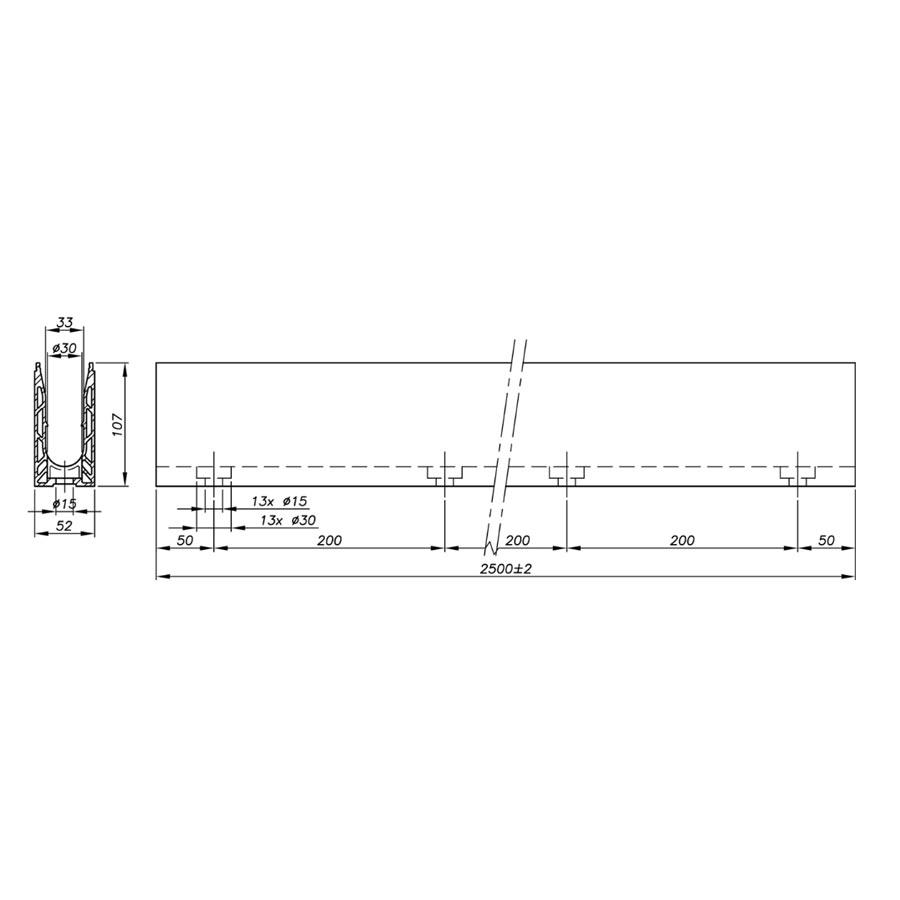 Garde-corps verre SABCO pose au sol - fonction balustrade - application privé - encombrement réduit - De 0,6 à 1,8 KN