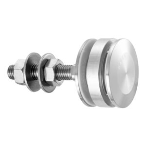 Swivel fitting - rotule - for structural bolted glass - Non-Flush Cylindrical Head - insulated glass unit
