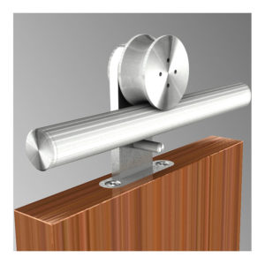 Sliding systems for a wooden door