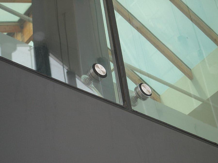 Fixation VEA rotulée affleurante - pour verre isolant