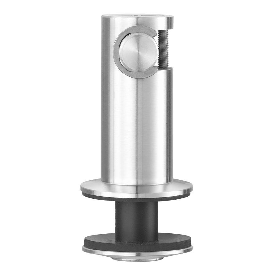 Fixation par crochet pour façade en verre - Détail du cylindre