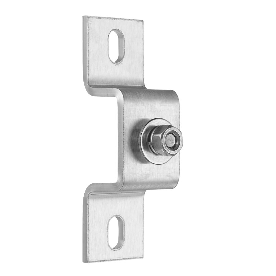 Omega Fitting for Vertical Mounting - Stainless Steel AISI 316