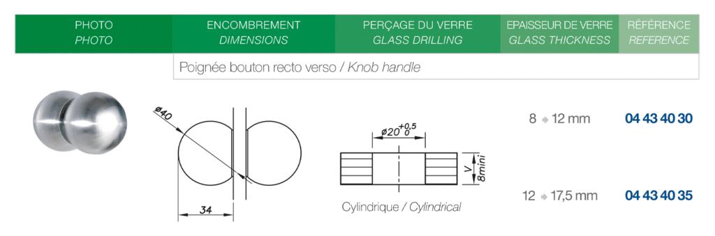 Minimalist door handles and knobs