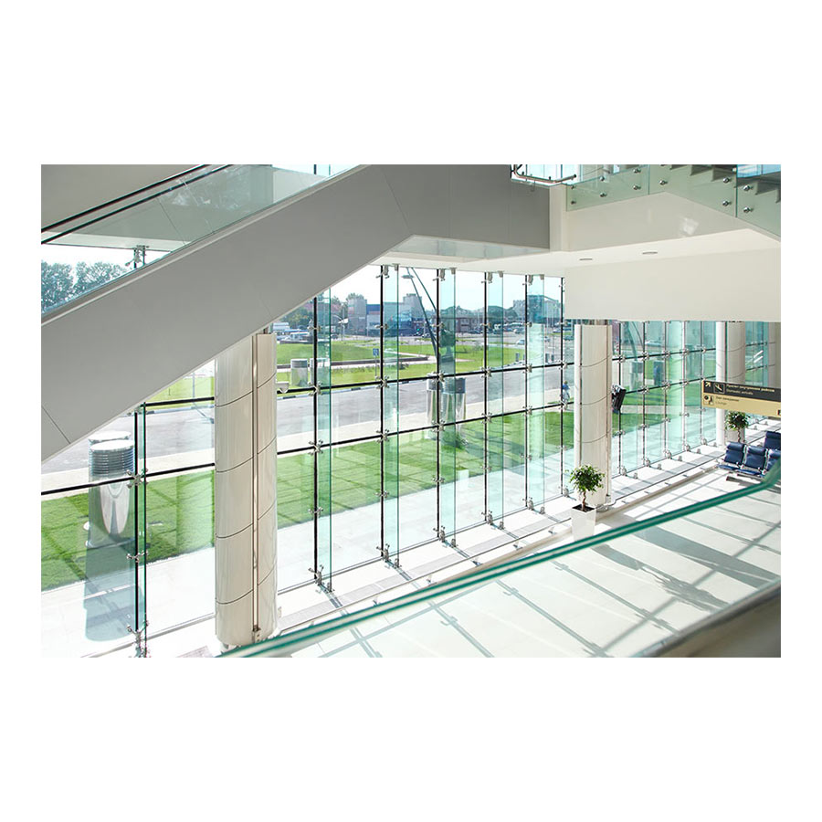 Spider Fittilng Stainless Steel AISI 316 with Plate for Point Fixed Architectural Glass - Technical evaluation
