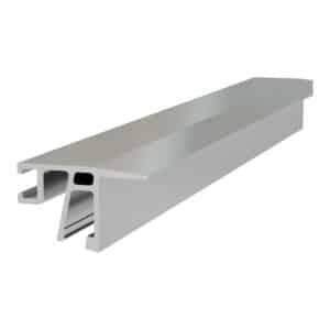 Cladding for Sabco glass balustrade horizontal insertion - slab edges
