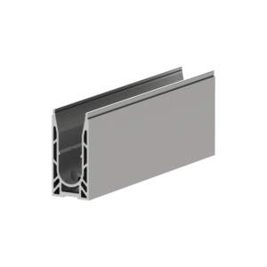 Rail profile barrier