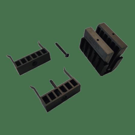 Cales fixation du garde-corps en verre SABCO SW - serrage des deux côtés-3