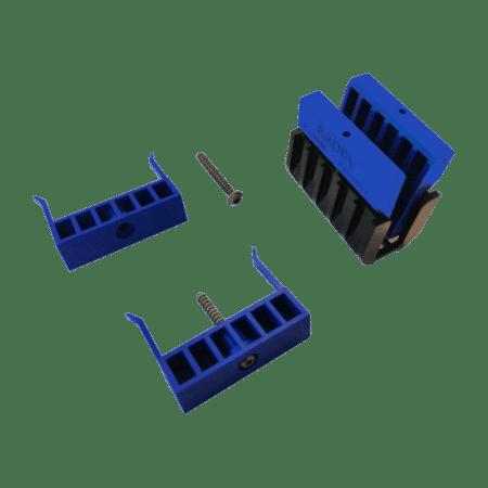Cales fixation du garde-corps en verre SABCO SW - serrage des deux côtés-2