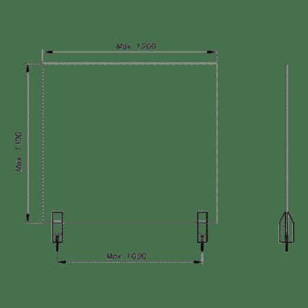 Spigot INO de piscine fixation ponctuelle pour barrières et protection de piscine en verre-4