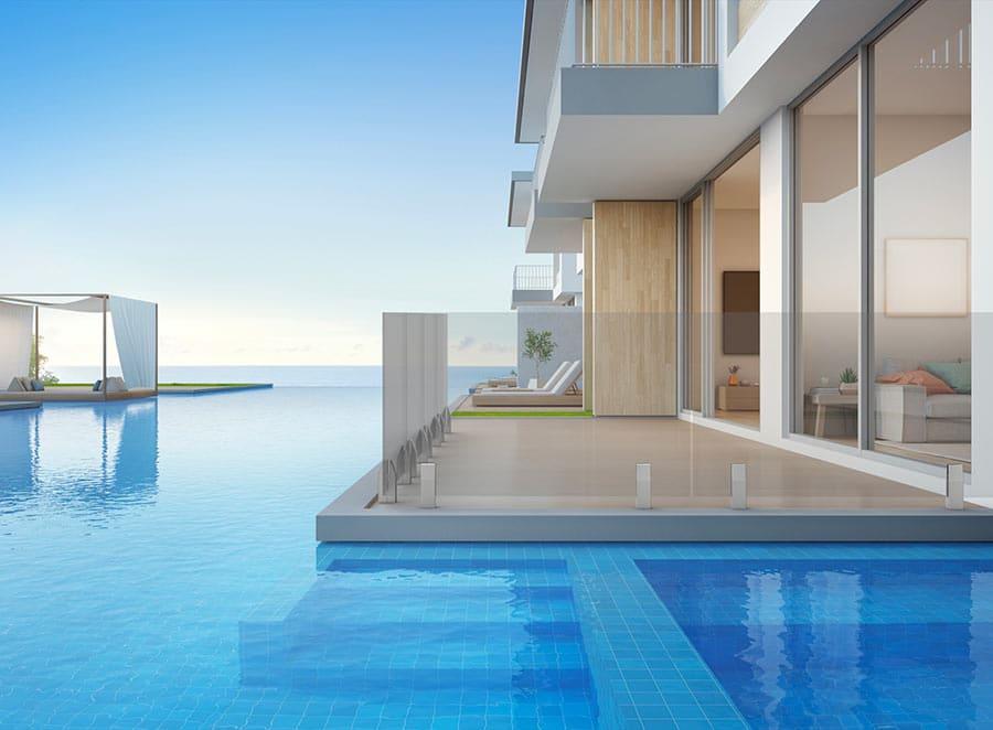 Spigot INO de piscine fixation ponctuelle pour barrières et protection de piscine en verre-5