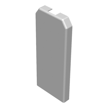 Embout d'extrémité pour fermeture du profil -  barrière de piscine en verre SWIMSIDE