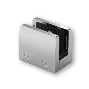 Pince à verre carré inox 316 - dimension 60x70 mm