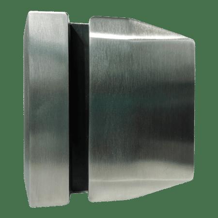 Serrure/gâche de sécurité verre/verre 90° pour portillon de piscine2