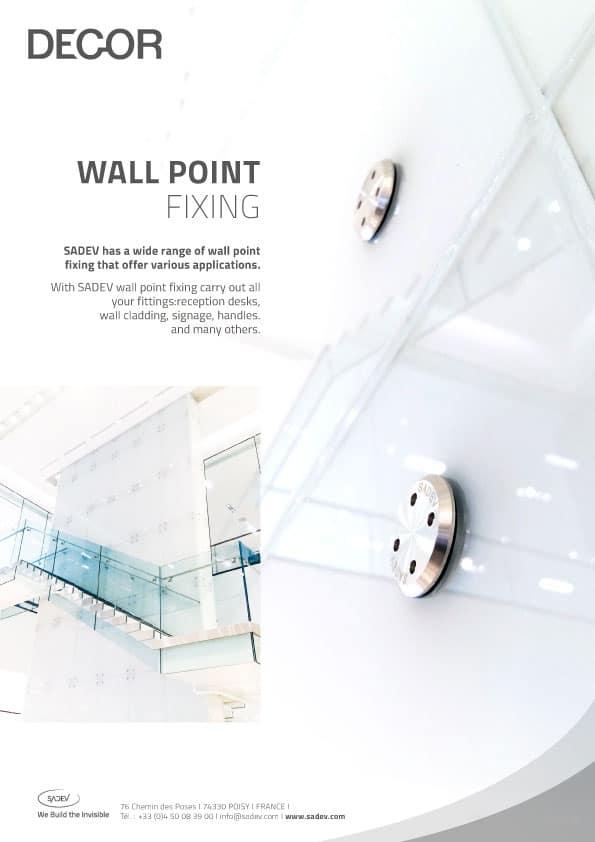 En Sadev Product Sheet Wall Point Fixing 210420