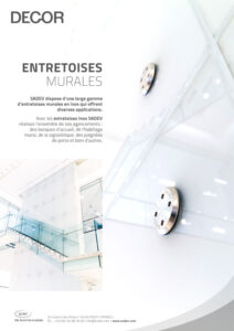 Fr Sadev Fiche Produit Entretoises Murales 210420