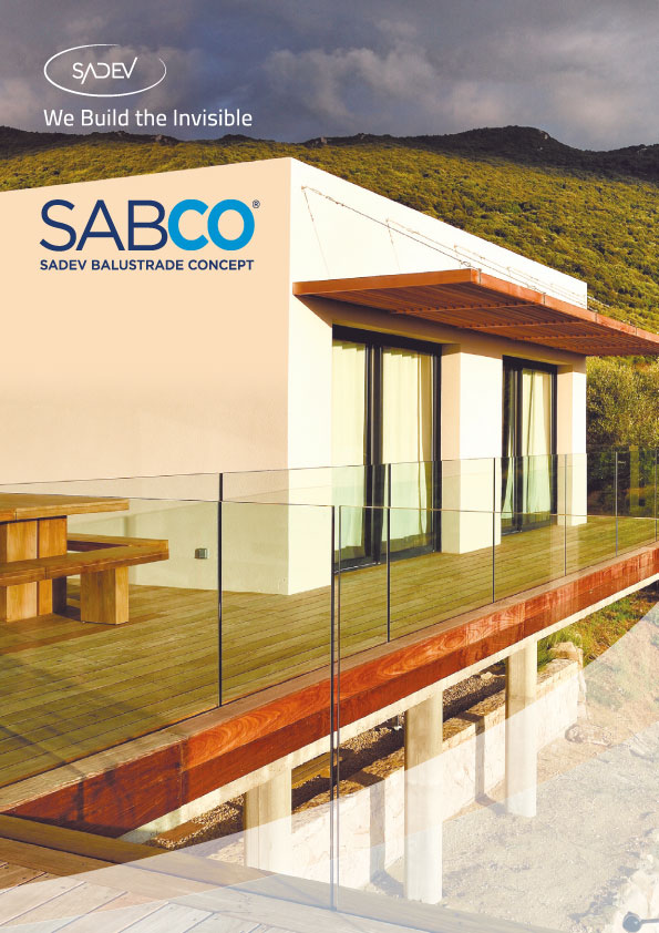 Sabco Glass Balustrade Small Brochure 2020