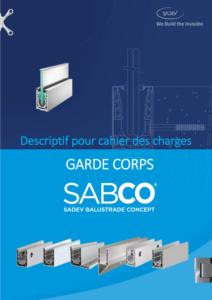 Sadev Cahier Des Charge Pour Cctp Garde Corps En Verre Sabco 2