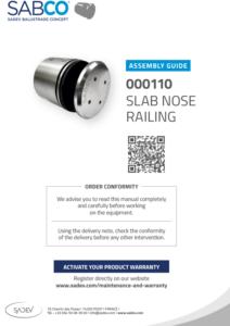 sadev assembly guide 000110 sadev slab nose glass railing2