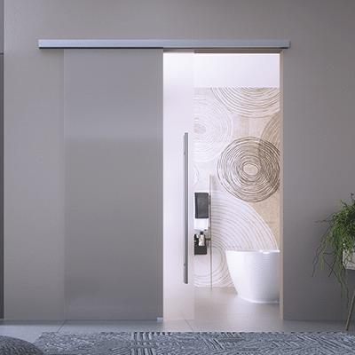 Fluido+colcom Sliding Glass Door Interior Design