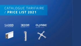 sadev tarif price list 2021