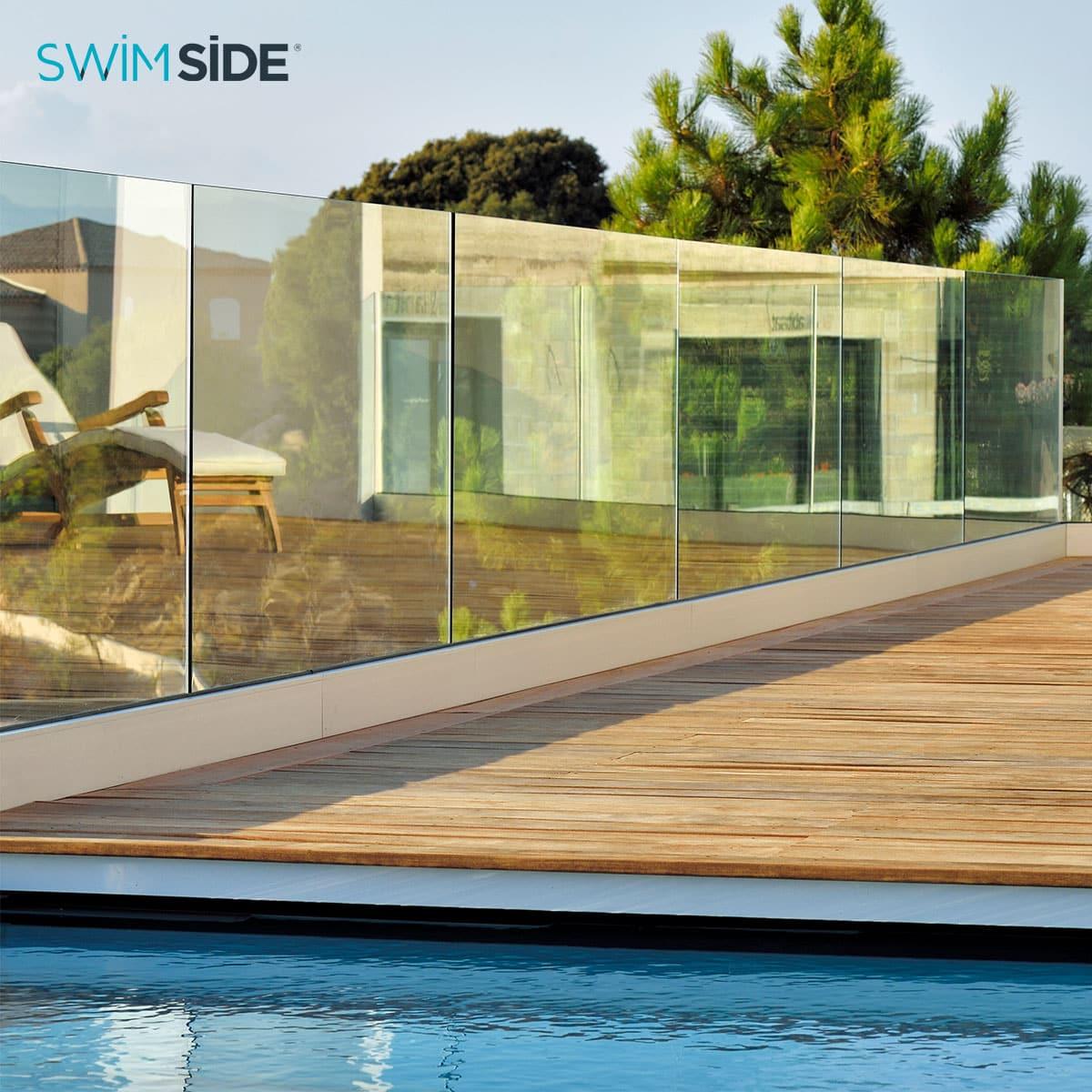 sadev pourquoi utiliser nos solutions swimside pour votre barriere de piscine en verre