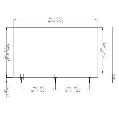 SADEV_Ino-SQUARE_spigot_piscine-en-verre_swimming-pool-fence_dimensions3
