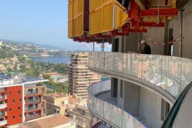 sadev sabco garde corps cintre verre tour girofle monaco glass curved balustrade monaco girofle tower 11