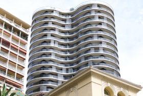 sadev sabco garde corps cintre verre tour girofle monaco glass curved balustrade monaco girofle tower 2