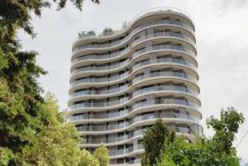 sadev sabco garde corps cintre verre tour girofle monaco glass curved balustrade monaco girofle tower 3
