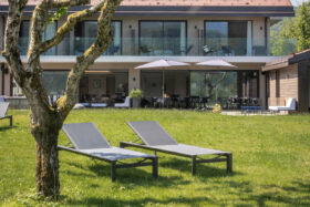 sadev sabco villa caroline hotel garde corps verre glass balustrade for hotel in france 5