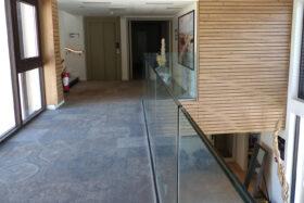 sadev sabco villa caroline hotel garde corps verre glass balustrade for hotel in france 7