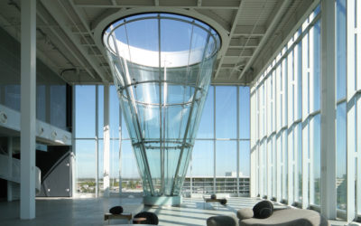 Glass cone, Cirque du Soleil